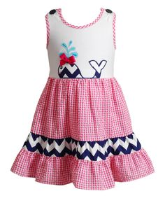 a6ccd07703ff This Pink Whale Sleeveless Dress - Infant, Toddler & Girls by Youngland is  perfect!