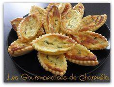 Les Gourmandises de Charméla: Barquettes au Chèvre et aux Herbes