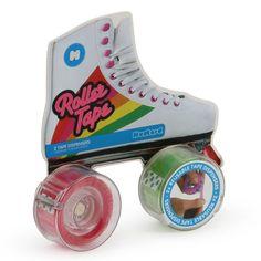 Roller tape reusable dispenser set