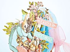 How to Create a Dimensional Easter Egg Card - Joanne Bain