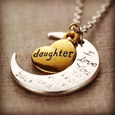 Daughter necklace (approximate ship date: 10-5-16) – 4hearts