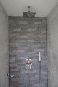 Shower grey tiles ceiling shower waterfall shower rainfall shower two piece 2019 Shower grey tiles ceiling shower wate… – Home Renovation Lake Bathroom, Bathroom Kids, Shower Bathroom, Bathroom Grey, Downstairs Bathroom, Bathroom Inspo, Diy Shower, Walk In Shower, Shower Ideas