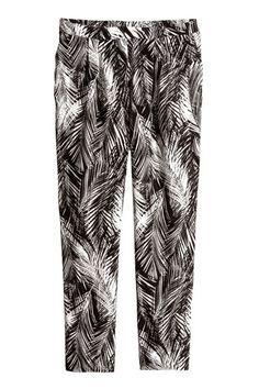 Pantalón con palmeras... h&m 14 e