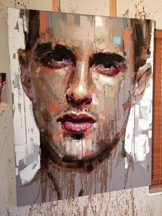 Jimmy Law & unique expressive portraits #artpeople