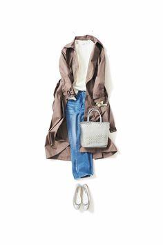 クリアがいい / コーディネート詳細 / Kyoko Kikuchi's Closet   菊池京子のクローゼット [ K.K closet ] Asian Fashion, Love Fashion, Spring Fashion, Winter Fashion, Fashion Outfits, Womens Fashion, Wardrobe Basics, Capsule Wardrobe, Dress For Success