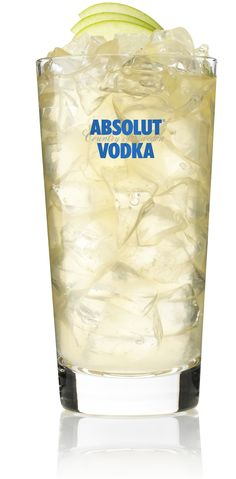 Absolut Wild Apple Tea Cocktail    30ml Absolut Wild Tea  90ml cloudy apple juice  Slice of lemon    Add ingredients to hi-ball glass, fill with ice and stir.