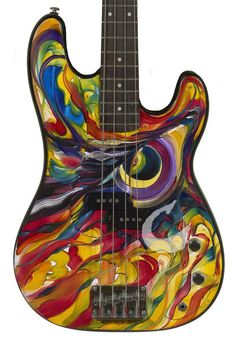 I love the bass guitar, and when I eventually learn how to play it, THIS is the guitar I'd wanna play <3