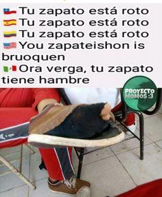 Se mamó we Haha Funny, Funny Memes, Jokes, Spanish Memes, Best Memes, Fnaf, Cool Stuff, Life, Facebook