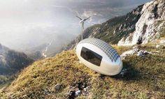 Wohn-Ei: Energieautark leben auf acht Quadratmetern