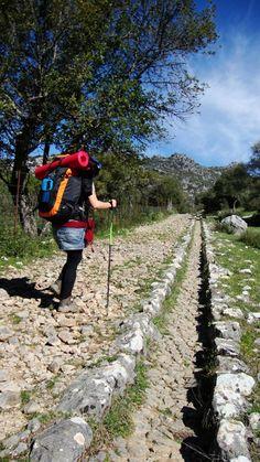 Calzada Romana Ubrique - Benaocaz, Ruta de los Pueblos Blancos,CADIZ  Andalucia Spain