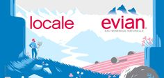 Campagne Evian/ Agence BETC