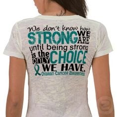 Inktastic My Grandma Is My Hero Teal Ribbon Baby T-Shirt Ovarian Cancer Pcos Tn