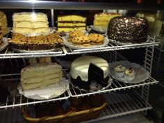 Rosine's is famous for their delicious (and enormous) slices of cake!
