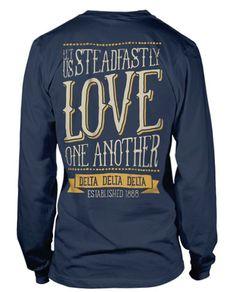 Delta Delta Delta Motto T-shirt!