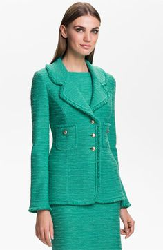 St. John Collection 'New Shantung' Jacket available at #Nordstrom