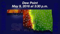 Mesonet Weather (5/14/16) Al Sutherland shows how the dew point played a role in the severe weather on Monday.