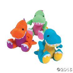 Plush Easter Dinosaurs $20 for 12