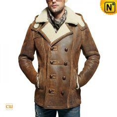 shearling lined sheepskin coat men cw878159-f91306.jpg (600×600)
