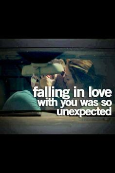falling in love with you was so unexpected Amazing Quotes, Cute Quotes, Love Friendship Quotes, Falling In Love Quotes, Unexpected Love, Hopeless Romantic, Love And Marriage, Relationship Quotes, Relationships