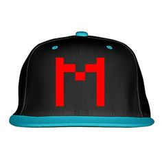 Markiplier Snapback Hat (Embroidered)  8d09d1f1a2c0