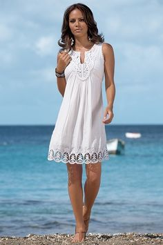 So pretty! Doesn& it just look so fresh and comfy! Sun sun dresses plus size sun dresses with sleeves sundress outfits sundresses dresses sundresses for weddings dresses sundresses Wedding Invitations Trends 2019 Beach Dresses, Cute Dresses, Casual Dresses, Fashion Dresses, Dresses With Sleeves, Maxi Dresses, Wedding Dresses, Party Dresses, Sundress Outfit