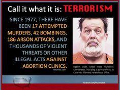 Radical Republican/Christian Terrorism