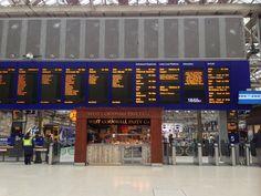 Glasgow Central Railway Station (GLC) in Glasgow