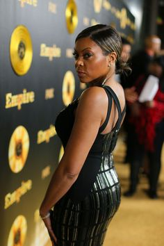 Taraji P. Henson at the 'Empire' Afterparty in Hollywood January 2015
