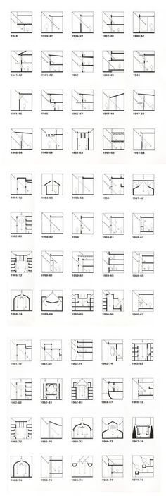 """Louis Kahn (from """"Licht und Raum- light and space"""", Urs Büttiker) The chronological listing of projects traces Kahn's development process in light control and modulation. Projects beginning with student work from 1924 and ending with the Berkeley library from 1971-1974 reveal an extraordinary broad spectrum of solutions for the design of light and space. Kahn's struggle to find the coherent answer for each architectural challenge remains the basic principle characterizing his complete work."""
