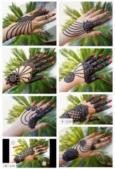 Vinay Nayak 7838924127 mo Wedding Henna Designs, Finger Henna Designs, Eid Mehndi Designs, Modern Mehndi Designs, Mehndi Designs For Fingers, Beautiful Henna Designs, Latest Mehndi Designs, Mehndi Images, Henna Tattoo Designs