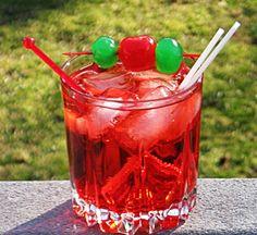 Dirty Shirley (2 oz. Cherry Vodka 6 oz. Lemon-Lime Soda .5 oz Grenadine)