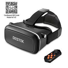 DESTEK V2 Gafas de Realidad Virtual con Bluetooth Remote - https://complementoideal.com/producto/tienda-socios/destek-v2-gafas-de-realidad-virtual-con-bluetooth-remote-para-360-videos-immersive-cine-juegos-de-4-5-7-iphone-5-6s-plus-samsung-s6-edge-note-5-lg-g3-g4-nexus-5-6p/