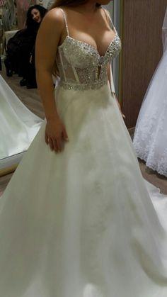 Swarovski wedding dress