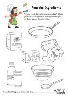 Ricette In Inglese Per Bambini.15 Idee Su Pancake Day Inglese Attivita Linguistiche Imparare Inglese
