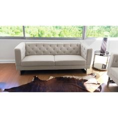 DG Casa Cream Allegro Sofa - Overstock™ Shopping - Great Deals on DG Casa Sofas & Loveseats