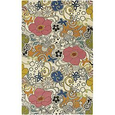 @Overstock - Complement your home decor with a wool rug Contemporary rug is woven of a 100-percent wool pile Floor rug features a range of shades including white, pink, pumpkin, fern, aqua, gold and morehttp://www.overstock.com/Home-Garden/Hand-tufted-Genesis-Collection-Wool-Rug-33-x-53/3668872/product.html?CID=214117 $86.99