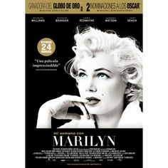 Watch My Week With Marilyn : Movies Sir Laurence Olivier Is Making A Movie In London. Young Colin Clark, An Eager Film Student, Wants To Be. Dougray Scott, Julia Ormond, Marilyn Monroe, Michelle Williams, Eddie Redmayne, Dolby Digital, 2011 Movies, Good Movies, Posters