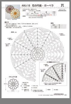 Crochet Monthly 287 - Lita Z - Picasa webbalbum Crochet Diagram, Filet Crochet, Crochet Motif, Crochet Doilies, Crochet Flowers, Doily Patterns, Crochet Patterns, Mandala Floral, Magazine Crochet
