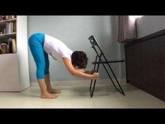 Chair Exercises, Chair Yoga, Yoga Poses, Health, Health Care, Salud