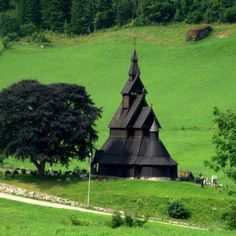 Stave Church - Photo taken our way to Bergen last year - Norway