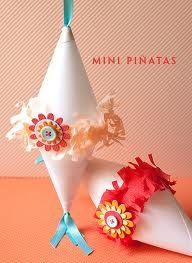 Totally have to make these mini pinatas!
