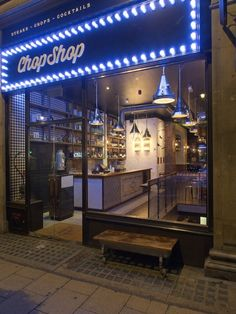 Chop Shop 66 Haymarket London SW1Y, UK