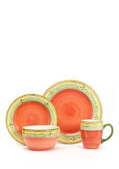 PFALTZGRAFF EVERYDAY 16-Piece Garden Sunrise Dinnerware Set