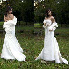 Vestito da sposa bianco #wedding