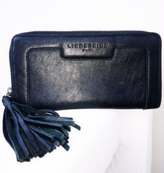 Liebeskind Berlin Clutch Leather Wallet by loveusati on Etsy