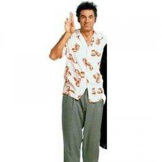Cosmo Kramer's Lobster Button Down Shirt