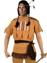 American Indian Wild West Costume