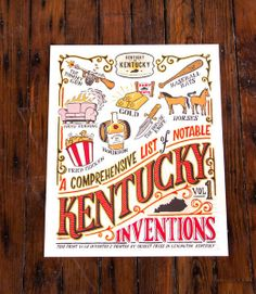 'A Comprehensive List of Kentucky Inventions' Vol. 1 - Second Edition