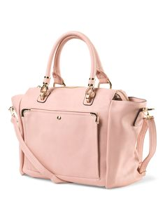 Obsessing over this blush wing tote with crossbody strap.  Only $29.99 compare at $55!