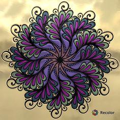 – coloring pages – kids - Malvorlagen Mandala Mandala Doodle, Mandala Art, Dot Art Painting, Mandala Painting, Stone Painting, Mandala Design, Hand Kunst, Art N Craft, Zen Art
